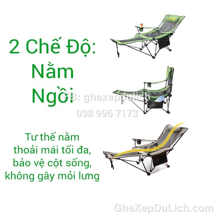 Ghế Nam Việt có tư thế nằm thoải mái, không mỏi lưng, bảo vệ cột sống.