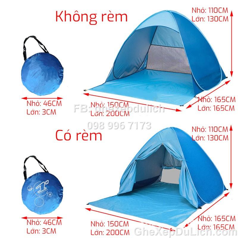 Leu bai bien chong nang gap gon (2)